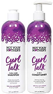 Not Your Mother's Curl Talk Shampoo & Conditioner Set, 12 Fl Oz Each