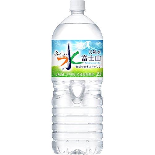 2CS アサヒ飲料 おいしい水 富士山 (2L×6本)×2箱