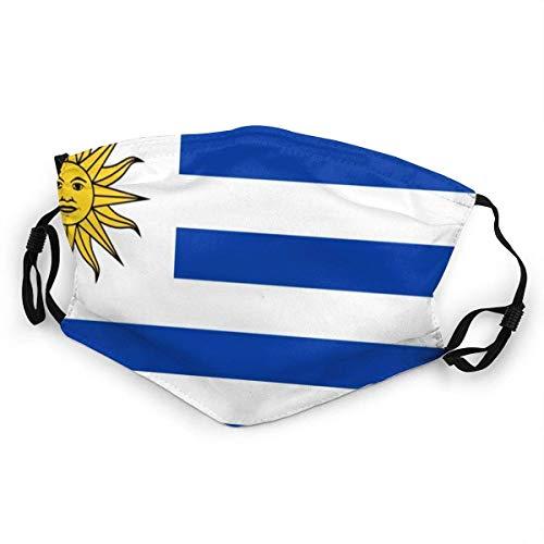Uruguay Flag Bandana Headwear Decoraciones faciales FA-CE Co