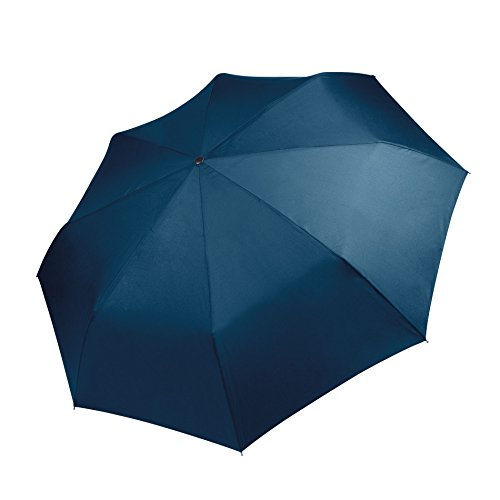 KiMood - Paraguas mini compacto plegable (Talla Única) (Azul marino)