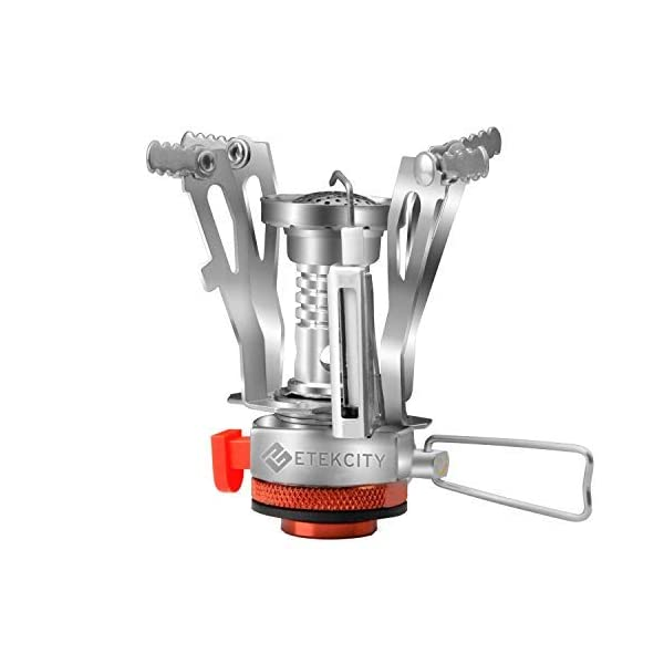 Etekcity Ultralight Portable Outdoor Backpacking Camping Stove with Piezo Ignition...