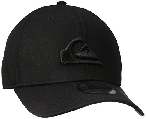 Quiksilver Herren Mountain & Wave Black Hat Baseball Cap, schwarz/schwarz, M/L
