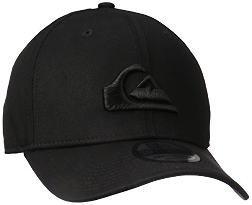 Quiksilver Men's Mountain & Wave Black Hat, M/L