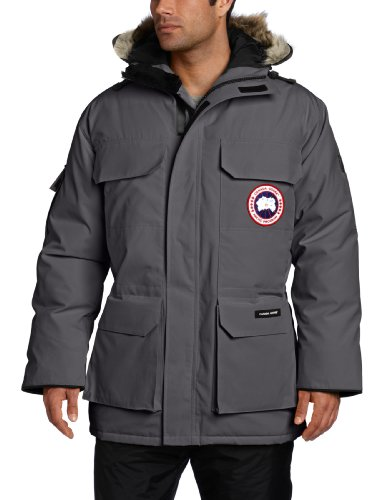 Canada Goose Men's Expedition Parka,  Graphite,  Large