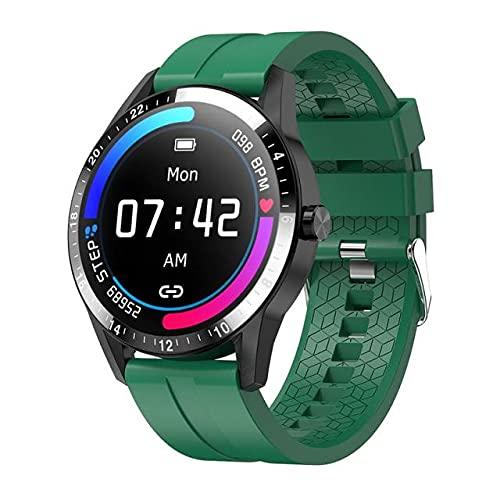 G20 Pro vs LF26 Hombres Reloj Inteligente, Accesorio de la Pulsera de Llamadas a Prueba de Agua, Bluetooth, Android iOS Dial Personalizado, 30 días de Espera de Largo,E
