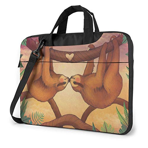 Leuke S-Loth Liefde Laptoptas tas schoudertas 15,6 inch Messenger dragen aktetas handtas mouwen