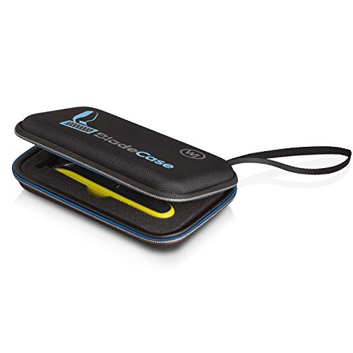 Wicked Chili Blade Case Tasche kompatibel mit Philips OneBlade Face + Body (QP2530/30, QP2630/30, QP2520/30, QP2520/20) OneBlade Schutzhülle mit Zubehörfach