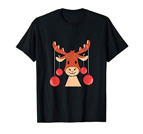 Alces adorno de Navidad decorador Camiseta