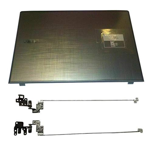 Replacement for Acer Aspire E5-575 E5-575G E5-576 E5-576G LCD Top Case Back Cover & Hinges (A+H)