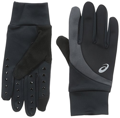 ASICS Windblock Glove, Black, Small/Medium