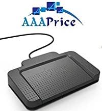Digital USB Foot Pedal for Express Scribe Pro Software