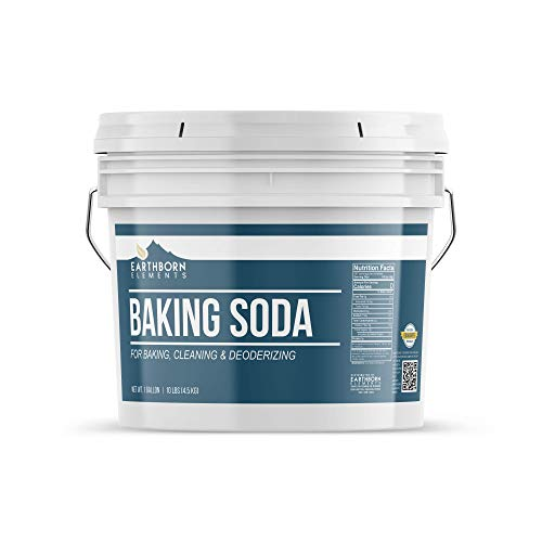 Natural Baking Soda 1 Gallon by Earthborn Elements