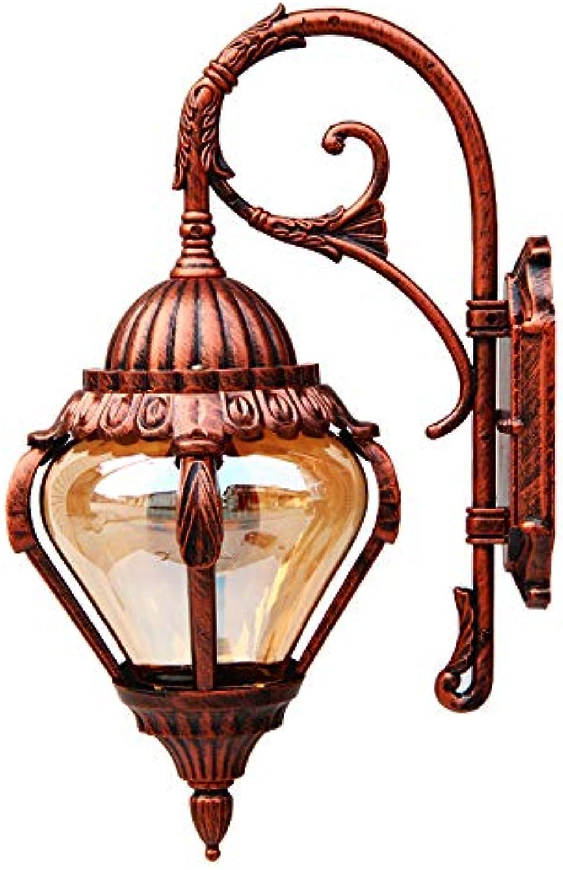 Outdoor Wasserdichte Wandleuchte Auenleuchte Balkon Licht Garten Lampe Straenlaterne Tür Lampe Villa Lampe Amerikanischen Wandleuchte