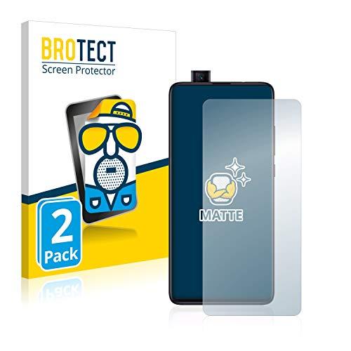 BROTECT Protector Pantalla Anti-Reflejos Compatible con Xiaomi Mi 9T Pro (2 Unidades) Película Mate Anti-Huellas