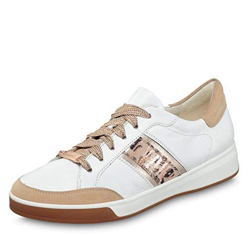 ara Damen ROM 1234471 Sneaker, Camel/Weiss, Platin/Puder 05), 39 EU(6 UK)