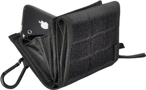HAZARD 4 Mil-iWallet(TM) w/Carabiner: 2-in-1 Wallet/Phone-Case for iPhone/iPod Touch/Motorola Droid/BlackBerry/HTC/Samsung/Android Smartphones