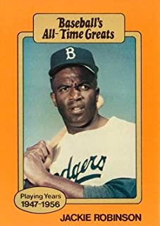 Best jackie robinson baseball's all time greats card Reviews