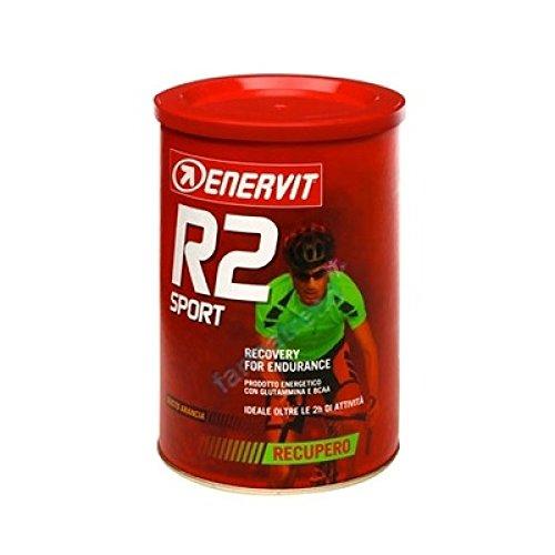 ENERVIT SPORT RECOVERY DRINK 400g (R2) GUSTO ARANCIA + Borraccia + Extra omaggio