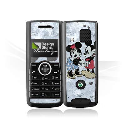 Folie kompatibel mit Sony Ericsson J120i Aufkleber Skin aus Vinyl-Folie Disney Minnie und Mickey Mouse Merchandise Geschenke