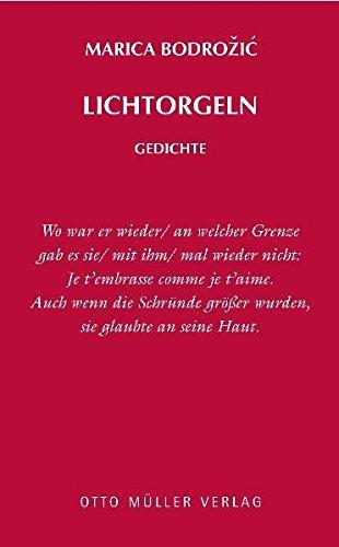Lichtorgeln: Gedichte
