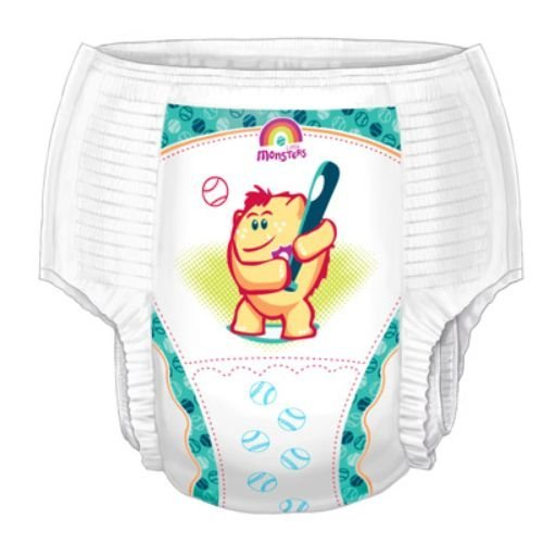 Covidien 70063BA Curity Boys Training Pants, Medium (Pack of 26)