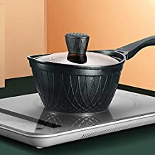 WZWHJ Milk Cooker Household Induction Cooker Hot Milk Cooker Milk Cooker Maifan Stone Non-stick Cooker Porridge Instant No...