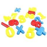 16 Stück Kunststoff 0-9 Anzahl Mathematik pädagogisches Spielzeug für Kinder