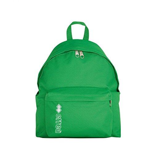 TOBAGO Rucksack · BASIC Tasche für Jugendliche & Kinder · ERREÀ Fußball Handball Volleyball Hockey Turnen Schule etc. · UNIVERSELL Freizeit Training Wettkampf Größe ONESIZE, Farbe grün