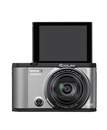 CASIO デジタルカメラ EXILIM EX-ZR1600SR 自分撮りチルト液晶 オートトランスファー機能 Wi-Fi/Bluetooth...