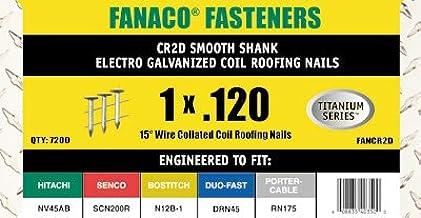 シングル屋根材釘打ち機用コイル釘(25mmタイプ) 15 DEG COIL ROOF 1.0 x .120 EG 7.2M(お得なまとめ買い11ケース)