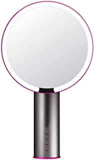 YXZQ Makeup Mirror, LED 3 Light Modes Vanity Mirror Smart Sensor Clarity System White Cosmetics Vanity (Color : White)