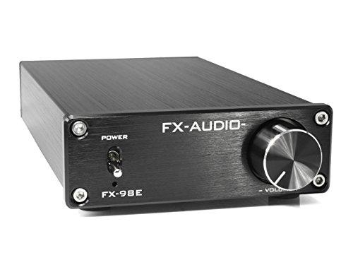 『FX-AUDIO- FX-98E 『ブラック』 TDA7498EデジタルアンプIC搭載 160Wハイパワーデジタルアンプ』の1枚目の画像