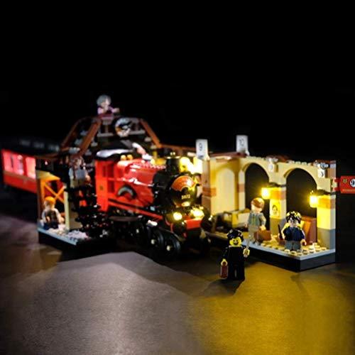 Juego De Iluminación De Bloques De Construcción De Tren Expreso De Harry Potter Hogwarts Compatible con…