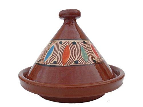 Marokkanische Tajine zum Kochen Ø 30 cm für 2-4 Personen - Orientalisch Kochen - 905118-000311