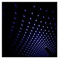 車の屋根の星周囲のライトロマンチック USB夜の雰囲気のランプの家の室内装飾ミニ天井プロジェクターギャラクシー調節可能 (Emitting Color : Blue purple light)