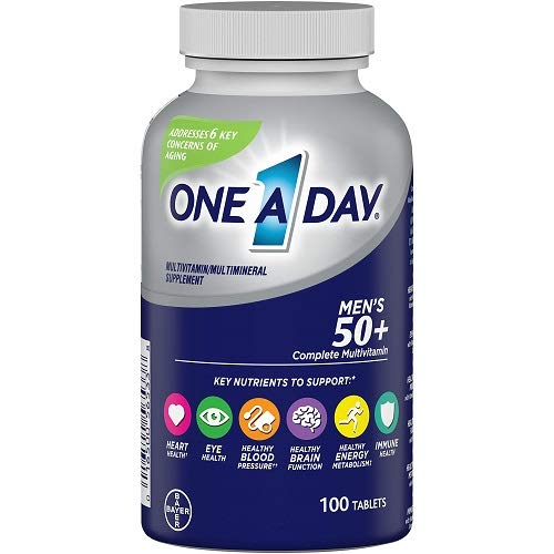 One-A-Day Men's 50+ Advantage Multivitamins, 100 Count