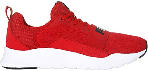 Puma Wired Rojo Blanco 366970 04