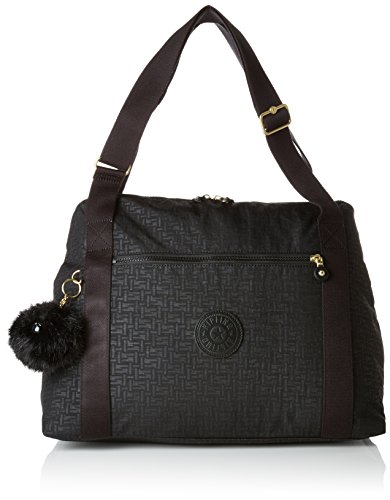Kipling LITTLE PUMPKIN Borsa Messenger, 44 cm, 20 liters, Nero (Black...