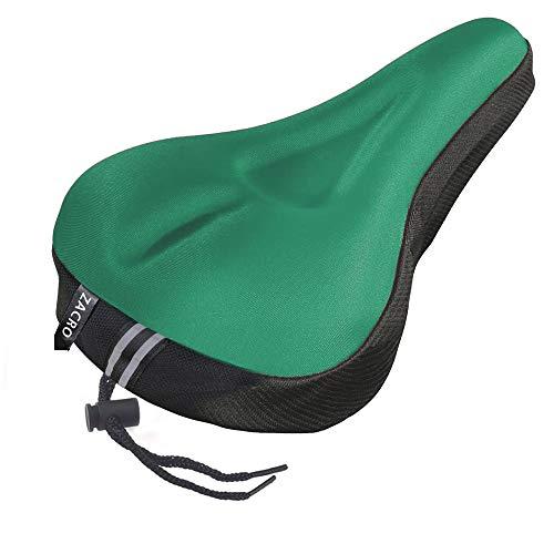 Zacro Gel Bike Seat - Extra Soft Gel Bicycle Seat - Bike Saddle Cushion with Water&Dust...