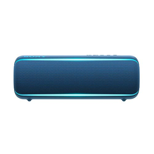 Sony SRS-XB22/L Bocina inalámbrica pórtatil con Bluetooth, Azúl
