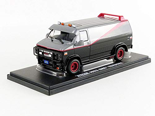 Greenlight - A-TEAM DieCast Model Car 12cm Van GMC VANDURA 1983 Scale 1/43 ORIGINAL