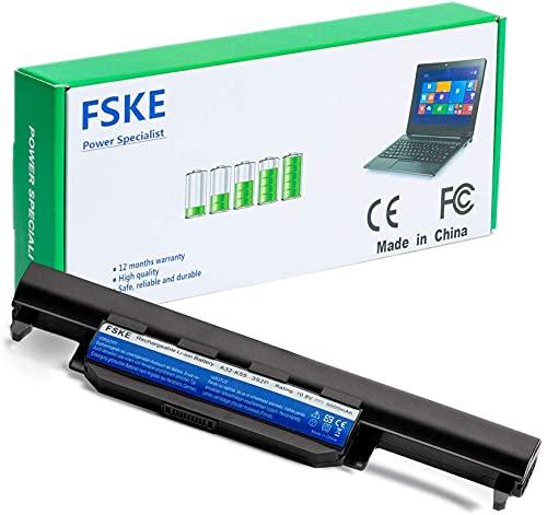 FSKE A32-K55 Batería para ASUS K55 K55A K55V X75A X55C X55A Notebook Battery,10.8V 5000mAh 6-células