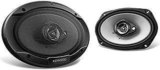 Kenwood 6x9 3 路扬声器 400 瓦*大功率 银色 15in. x 12in. x 5.25in.