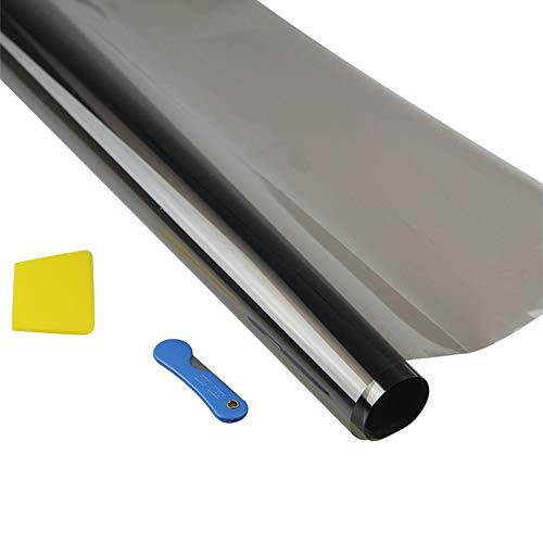 Auto Windschutzscheibe Sonnenschutz, Solar Auto Fensterfolie Sonnenblende Schutz Für Windschutzscheiben in verschiedenen Größen (15%)