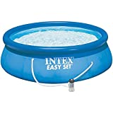 INTEX 28132GN Piscine Gonflable Easy Set 3,66 x 0,76 m, Bleu