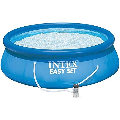 Intex 28132GN Piscine Gonflable Easy Set 3,66 x 0,76 m, Bleu