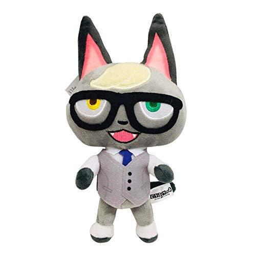 JIAL R 20cm 25cm Animal Crossing Juguete de la Felpa de Dibujos Animados Raymond Celestetasha Marina Juguetes de peluche-20cm-Raymond Chongxiang