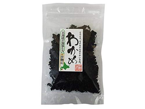 乾燥カットわかめ 35g (北海道産ワカメ) スープ ラーメン 味噌汁の具に最適 (干しわかめ)