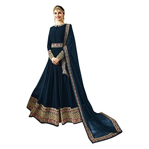 ETHNIC EMPORIUM Damen Eid New Festliche Designer Frauen Kaftan Brautkleid Salwar Kameez Hijab bodenlangen Anarkali Anzug benutzerdefinierte Messen Muslim 2716 43481 Wie gezeigt