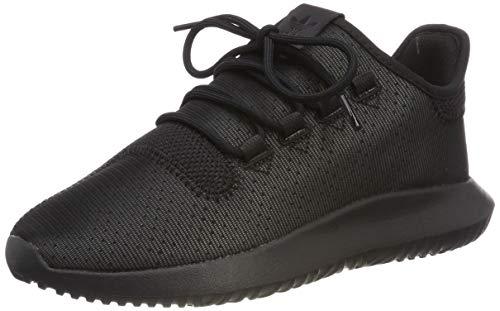adidas Unisex-Kinder Tubular Shadow J Fitnessschuhe, Schwarz (Negbás 000), 37 1/3 EU